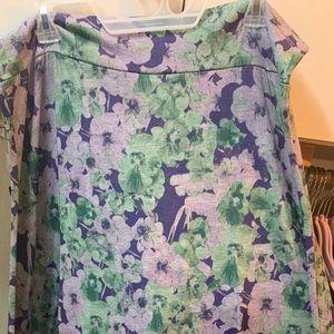 2xl LuLaRoe Maxi Skirt